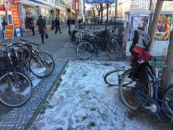 Berlin Kreuzberg Verteilung Veloschoner Pukka Tee