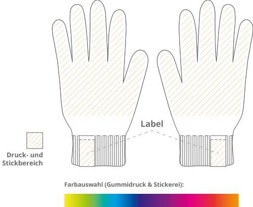 touchscreen handschuhe druck layout-2